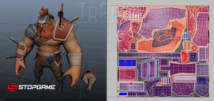 Анатомия игр: Модель ассета