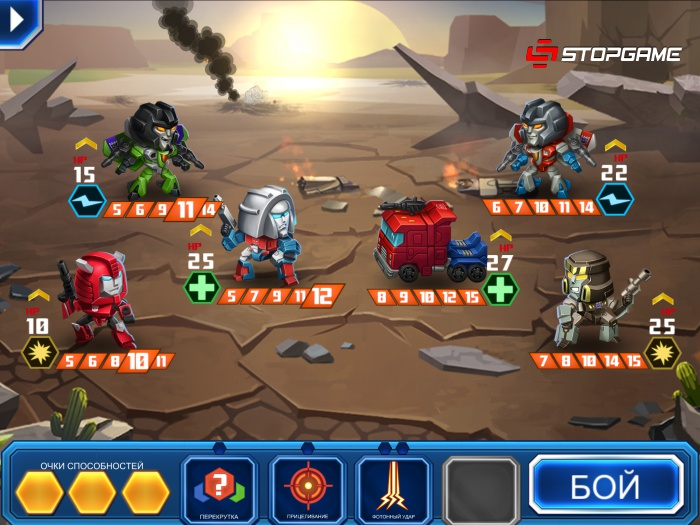 Обзор TRANSFORMERS: Battle Tactics