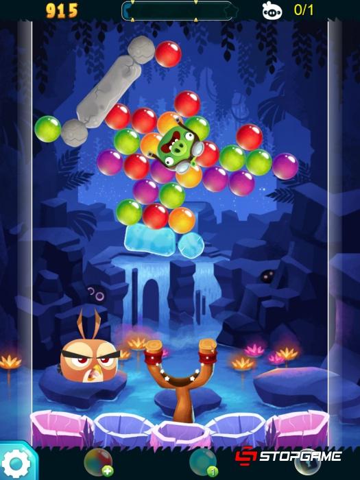 Обзор Angry Birds Stella POP!