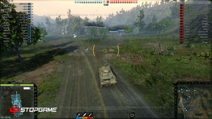 Armored Warfare Прицел
