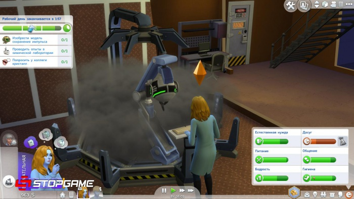 Sims 4: Get To Work Обзор