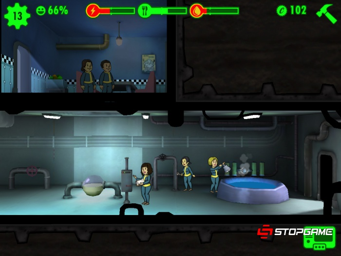 Fallout Shelter обзор