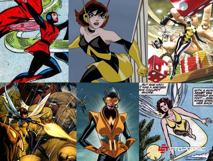Человек-муравей: история супергероя