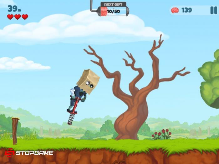 Zombie's Got a Pogo обзор игры