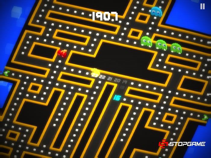 Pac-Man 256 обзор игры