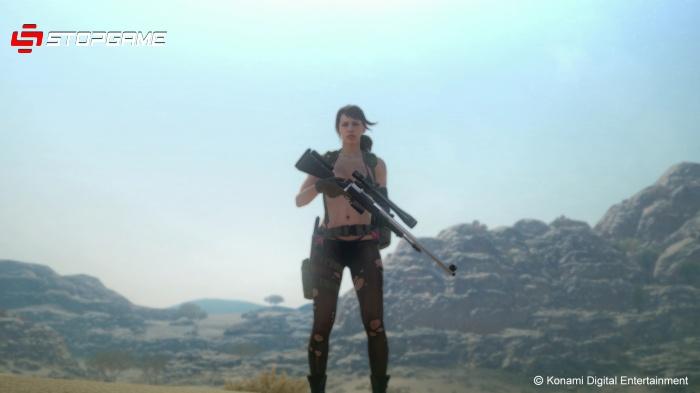 Metal Gear Solid V: The Phantom Pain обзор игры