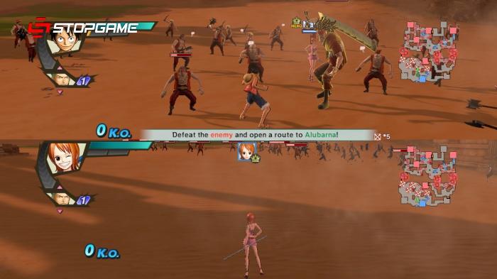 One Piece: Pirate Warriors 3 обзор игры