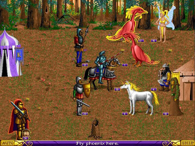Летопись Heroes of Might and Magic. Часть 1