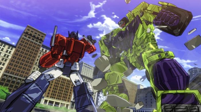 Прохождение игры Transformers: Devastation