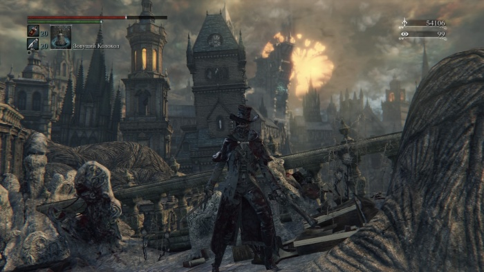 Bloodborne: The Old Hunters обзор игры