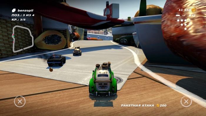 Table Top Racing: World Tour обзор игры