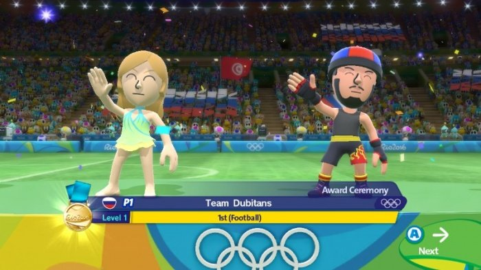 Mario & Sonic at the Rio 2016 Olympic Games обзор игры