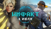 Инфакт от 06.07.2016 — Overwatch, Deus Ex: Mankind Divided, Battlefield 1…