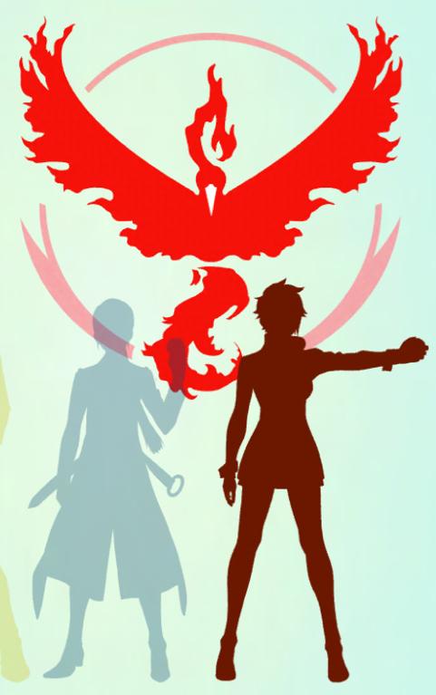 Предметы и команды в Pokemon GO
