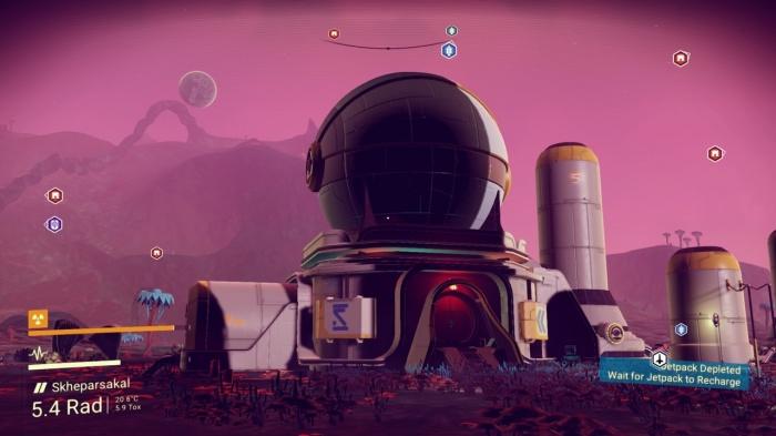 Прохождение игры (ресурсы, компоненты и сигнальный сканер) No Man's Sky