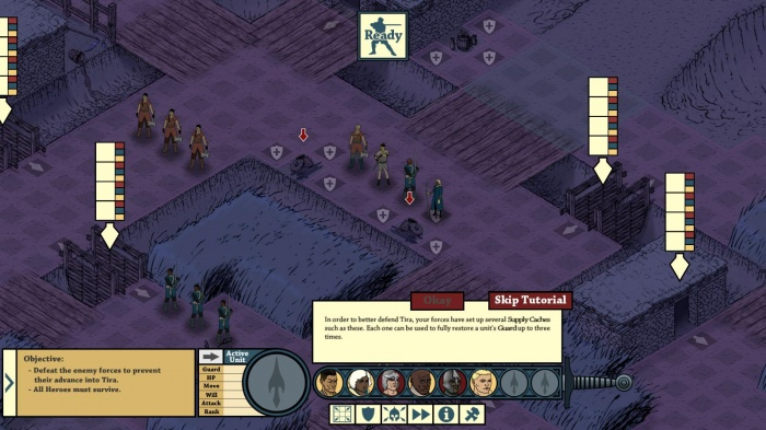 Tahira: Echoes of the Astral Empire обзор игры