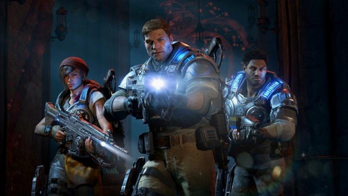 Прохождение Gears of War 4