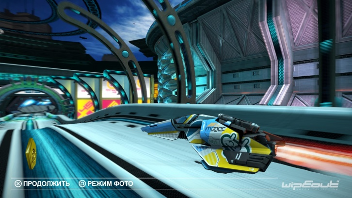 WipEout Omega Collection обзор игры