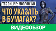 Видеообзор игры Elder Scrolls Online: Morrowind, The