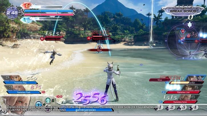 Dissidia: Final Fantasy NT обзор игры