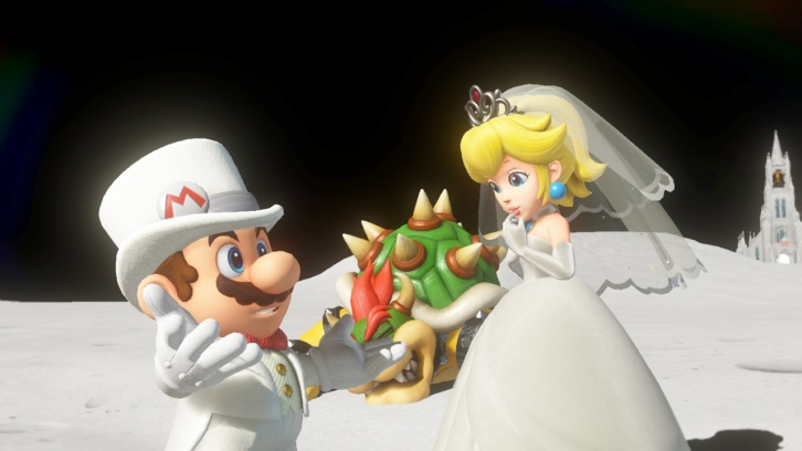 Super Mario Odyssey обзор игры