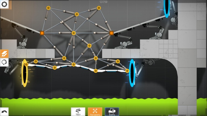 Bridge Constructor Portal обзор игры