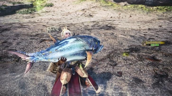 Гайд по рыбалке в Monster Hunter: World