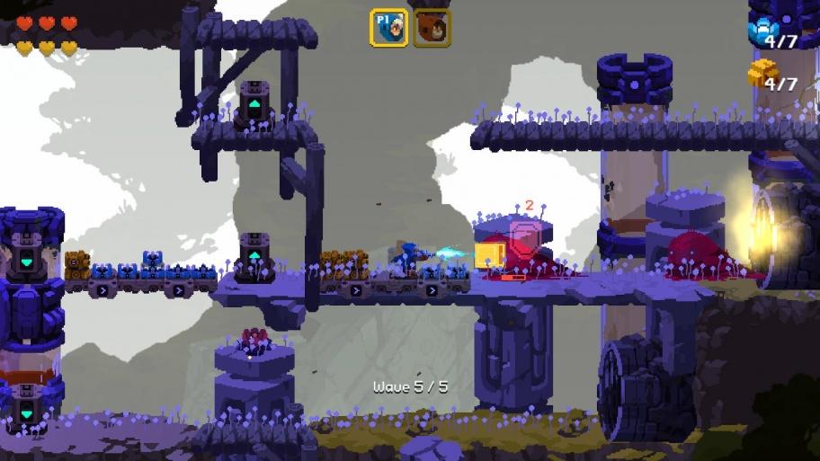 Aegis Defenders обзор игры