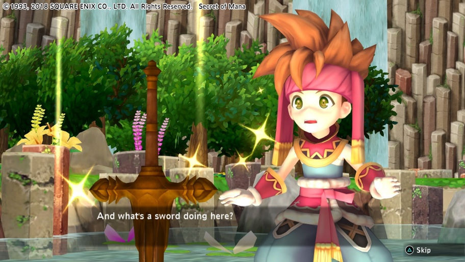 Secret of Mana обзор игры