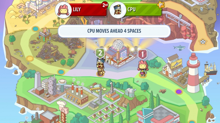 Scribblenauts Showdown обзор игры