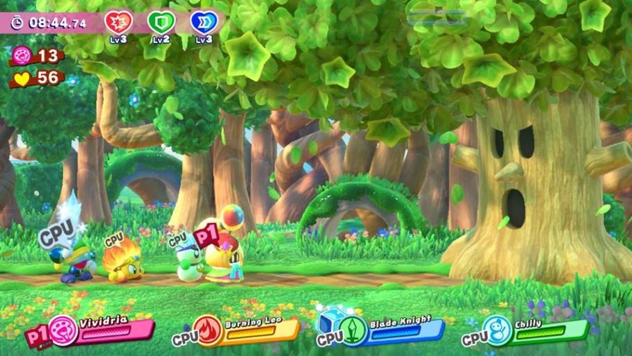 Kirby Star Allies обзор игры