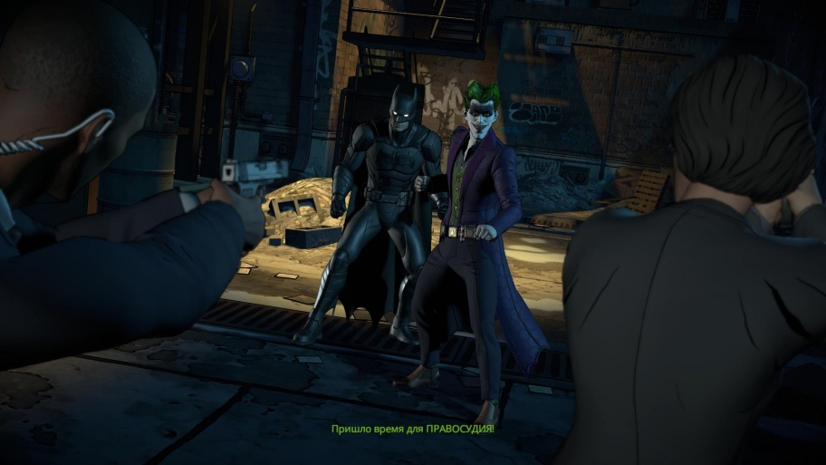 Batman: The Enemy Within - The Telltale Series обзор игры