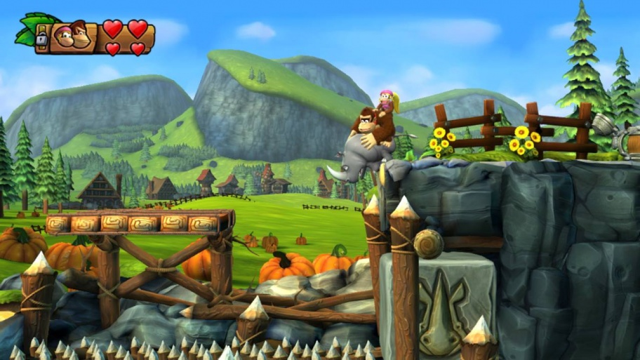 Donkey Kong Country: Tropical Freeze обзор игры