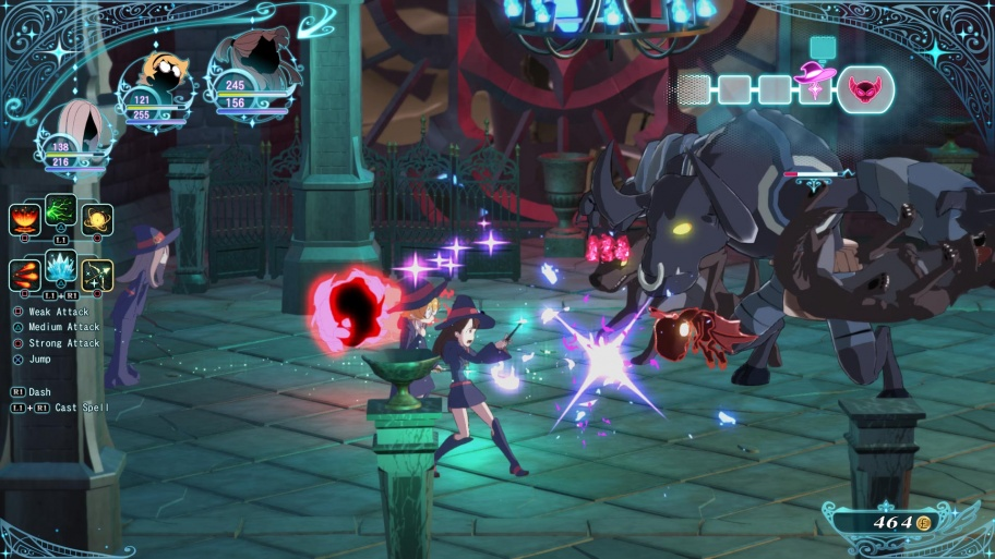 Little Witch Academia: Chamber of Time обзор игры
