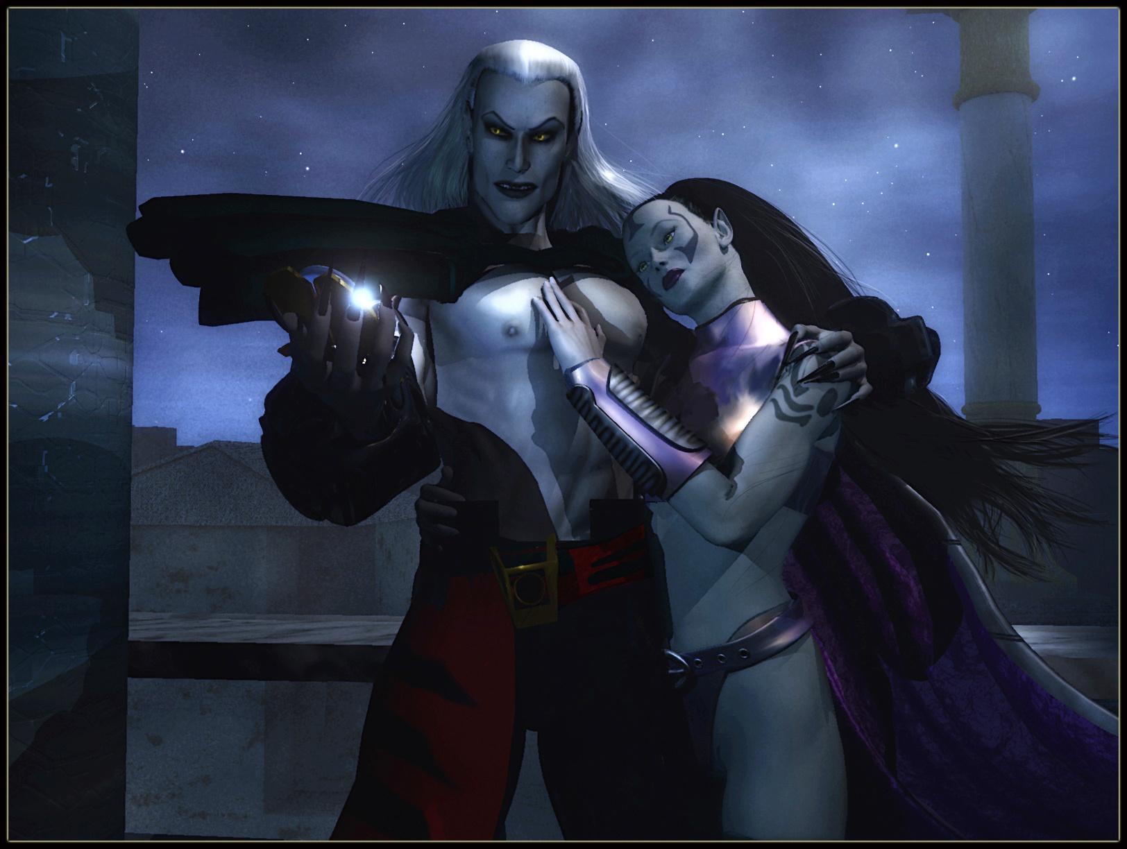 Вампиры лесбиянки vampyre story