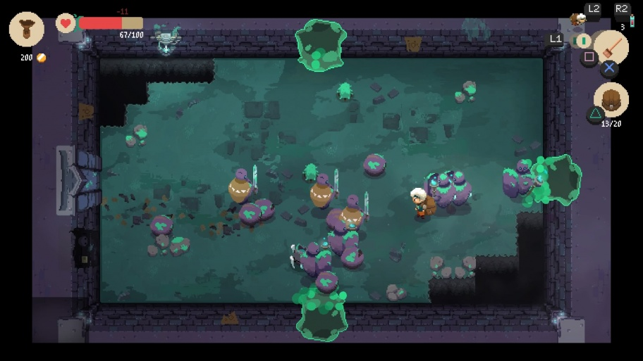 Moonlighter обзор игры