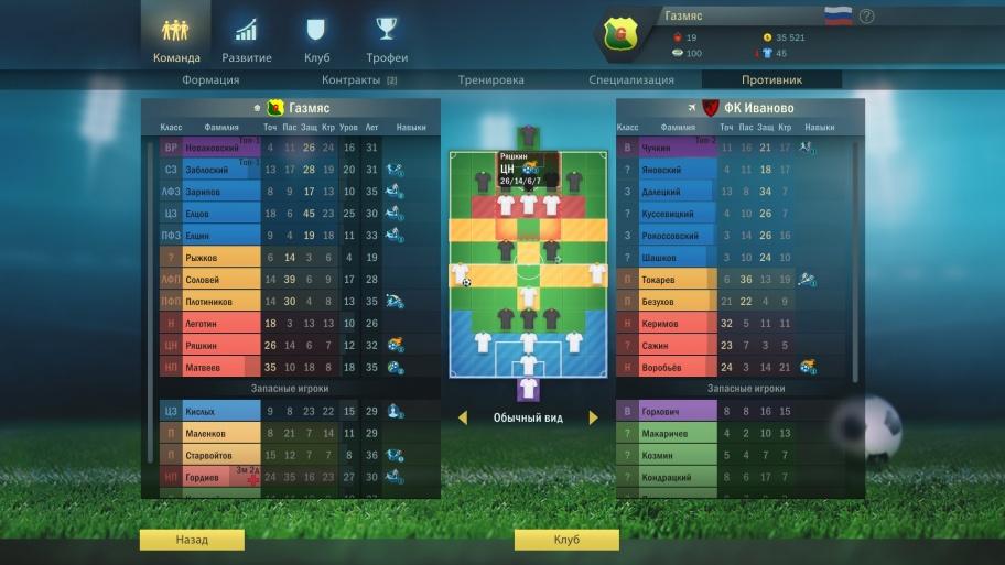 Football, Tactics & Glory обзор игры