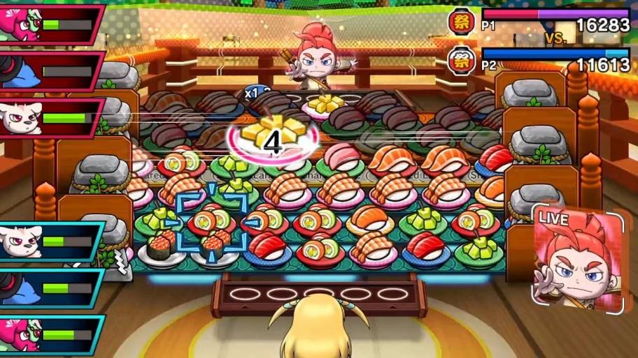 Sushi Striker: The Way of Sushido обзор игры