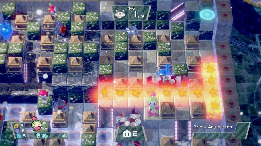 Super Bomberman R обзор игры