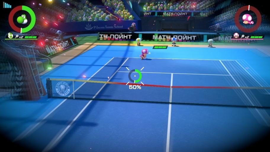 Mario Tennis Aces обзор игры