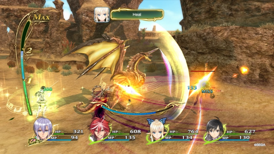 Shining Resonance Refrain обзор игры