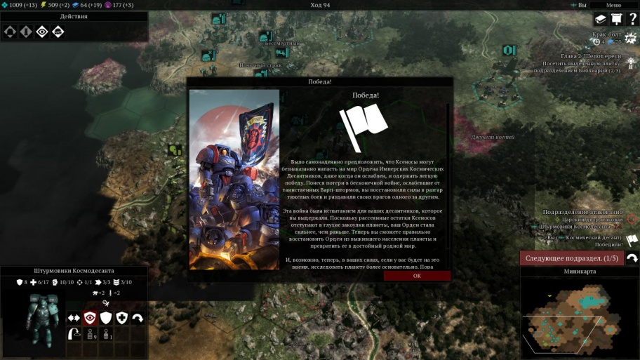 Warhammer 40,000: Gladius — Relics of War обзор игры