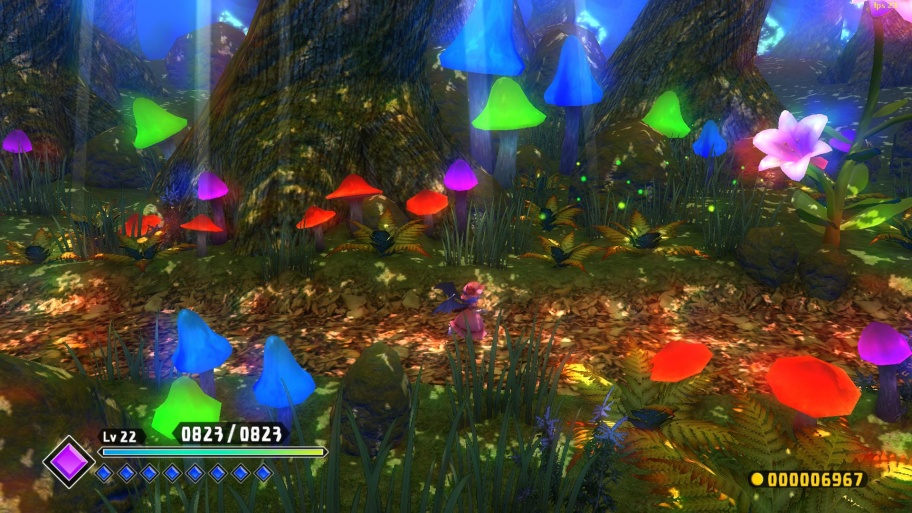 Touhou: Scarlet Curiosity обзор игры