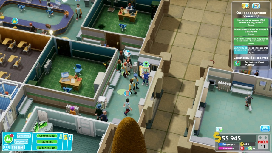 Two Point Hospital обзор игры