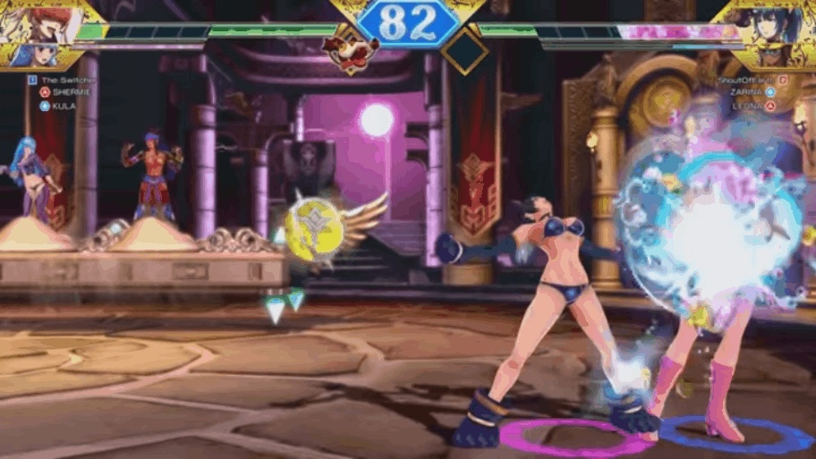 SNK Heroines: Tag Team Frenzy обзор игры