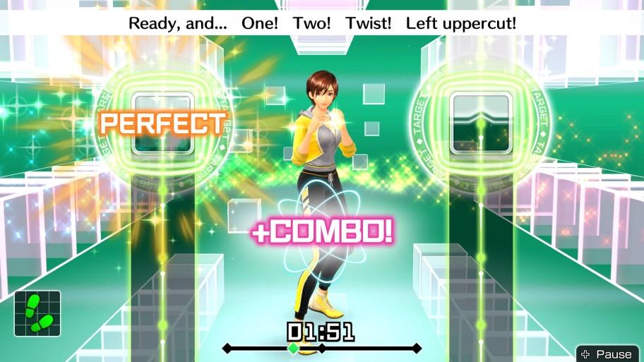 Fitness Boxing обзор игры