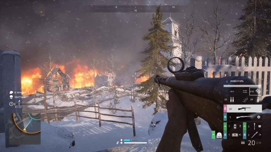 «Королевская битва» Battlefield V. Можно хоронить