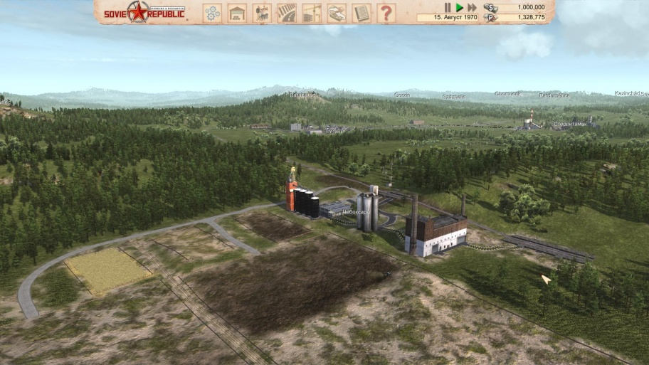 Workers & Resources: Soviet Republic превью игры