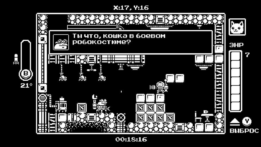 Gato Roboto обзор игры