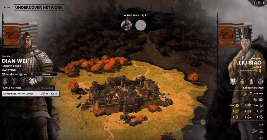 Total War: Three Kingdoms – руководство по шпионажу